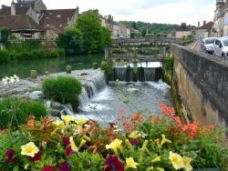 Photo paysage et monuments, Clamecy - Clamecy Nièvre - Juin 2015.Le Beuvron.