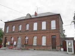 Photo paysage et monuments, Bas-Lieu - la mairie