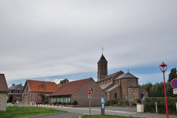 Photo Bissezeele - la marie et église saint Omer