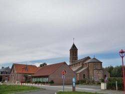 Photo paysage et monuments, Bissezeele - la marie et église saint Omer