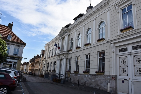Photo Bourbourg - la Mairie