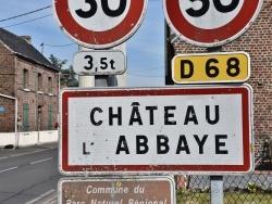 Photo paysage et monuments, Château-l'Abbaye - chateau l'abbaye (59230)