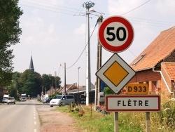 Photo paysage et monuments, Flêtre - La Commune