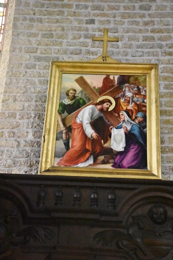 Photo Gravelines - le chemin de croix église Saint Willibrord