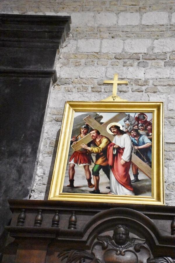 le chemin de croix église Saint Willibrord