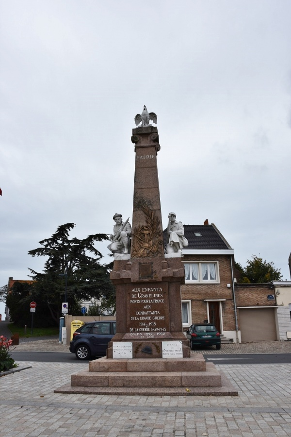 Photo Gravelines - Le Monuments aux Morts