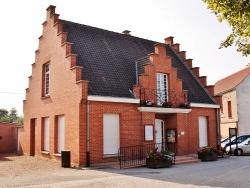 Photo paysage et monuments, Houtkerque - La Mairie