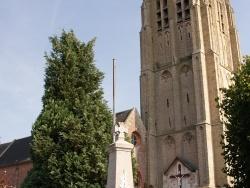 Photo paysage et monuments, Houtkerque - Monument-aux-Morts