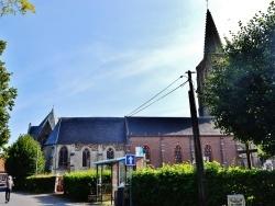Photo paysage et monuments, Houtkerque - L'église