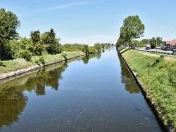 Photo paysage et monuments, Leffrinckoucke - canal de Furnes