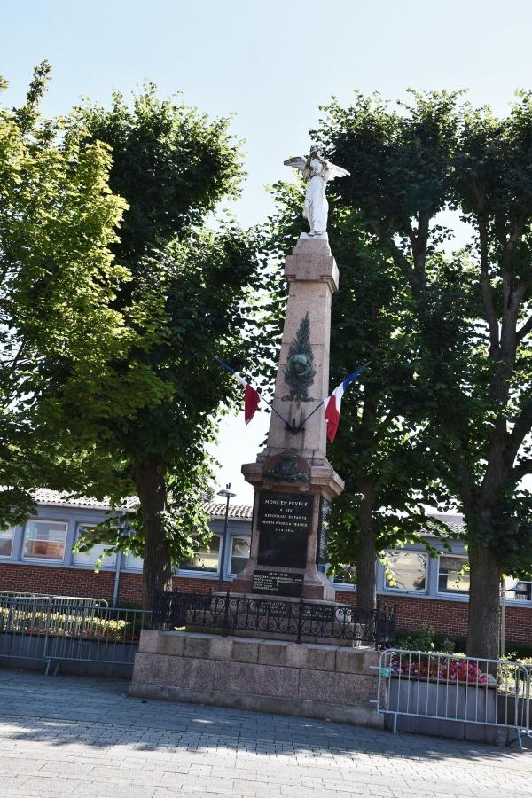 Photo Mons-en-Pévèle - le Monument Aux Morts