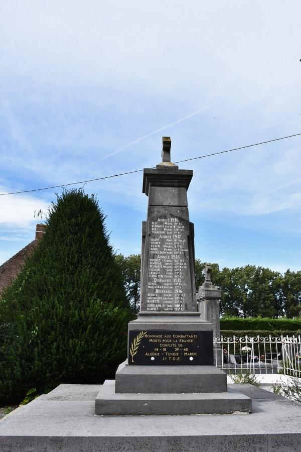Photo Steene - le Monument Aux Morts