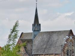 Photo paysage et monuments, Strazeele - L'église
