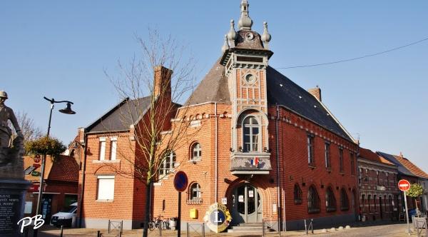 Templeuve ( 59242 ) La Mairie