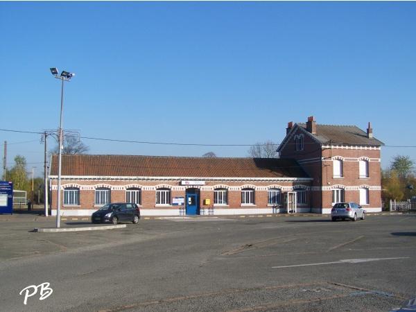 Templeuve ( 59242 ) La Gare