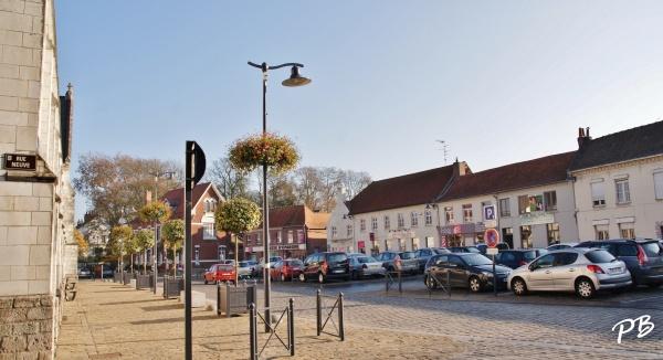 Templeuve ( 59242 ) La Grand Place