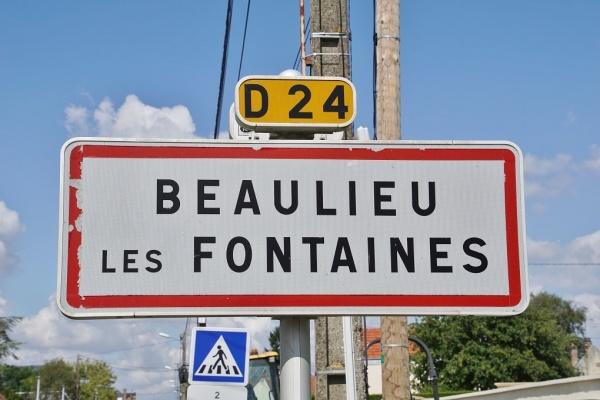 Photo Beaulieu-les-Fontaines - Beaulieu les Fontaines (60310)