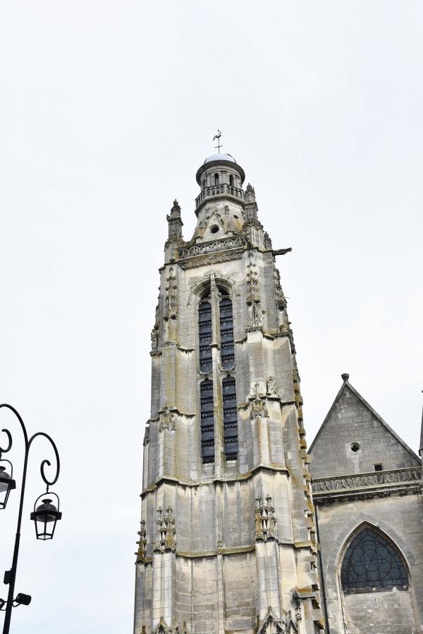 Photo Compiègne - le clocher St jacques