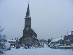 Photo paysage et monuments, Athis-de-l'Orne - athis sous la neige 25.12.09