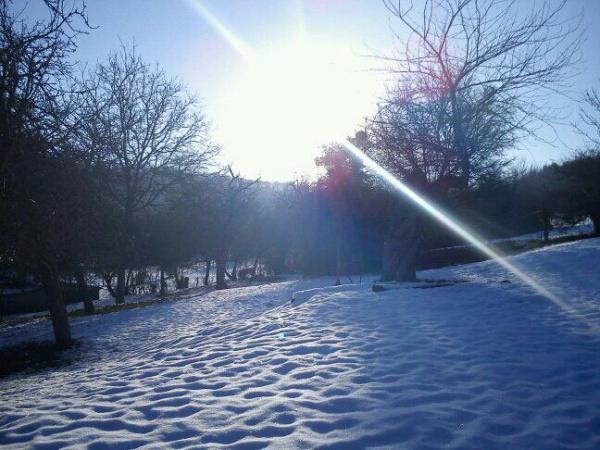 Photo Aubry-en-Exmes - vue sur neige