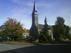 Photo paysage et monuments, Lougé-sur-Maire - l'église
