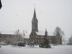 Photo paysage et monuments, Lougé-sur-Maire - l'église de lougé-sur-maire