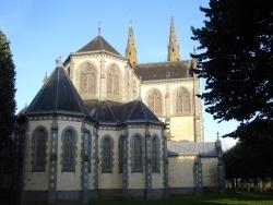 Photo paysage et monuments, Vimoutiers - église