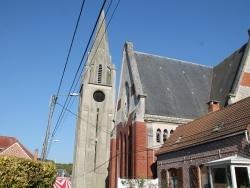 Photo paysage et monuments, Ablain-Saint-Nazaire - église Saint Nazaire