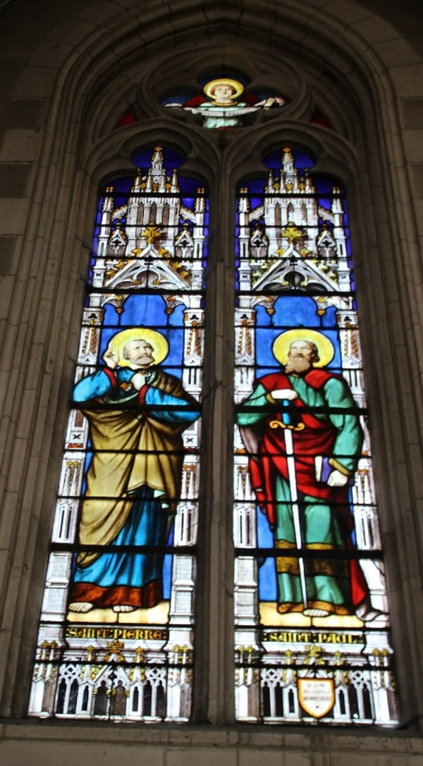 Photo Ardres - Vitraux Notre Dame de grâces