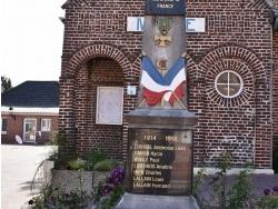 Photo paysage et monuments, Bénifontaine - le Monument Aux Morts