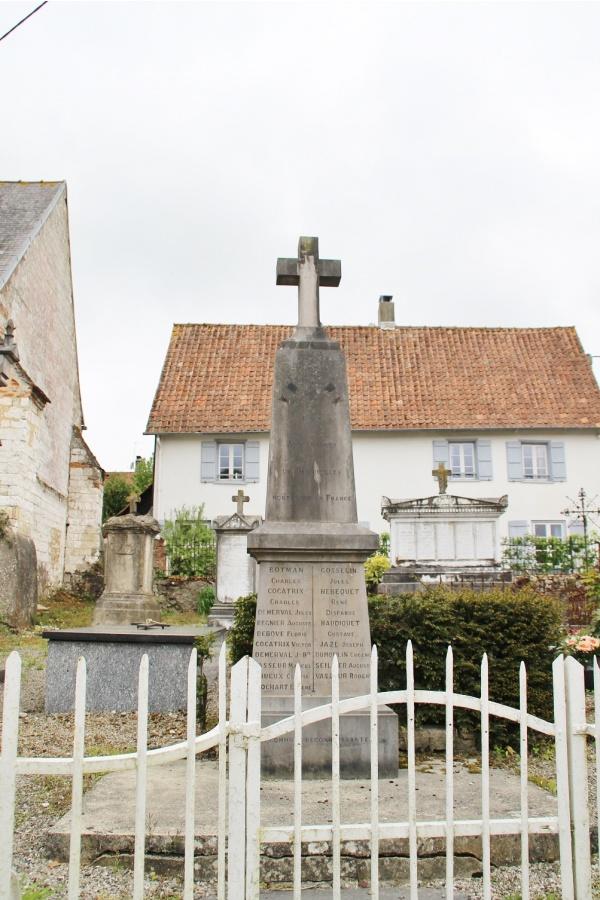 Photo Bernieulles - le monument aux morts