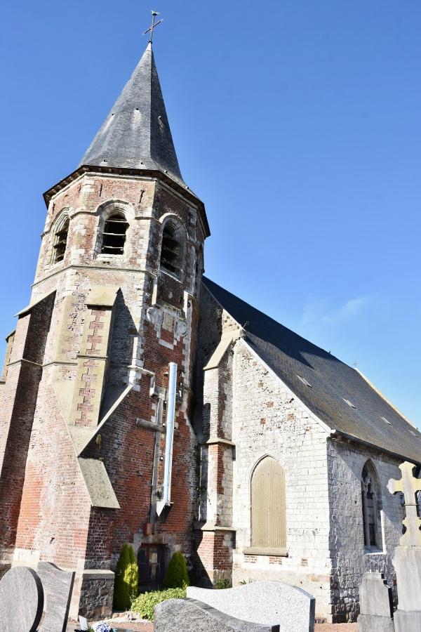 Photo Bours - église saint Austreberthe