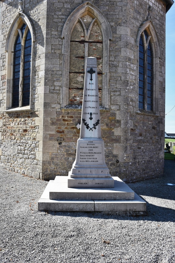 Photo Boursin - le monument Aux Morts