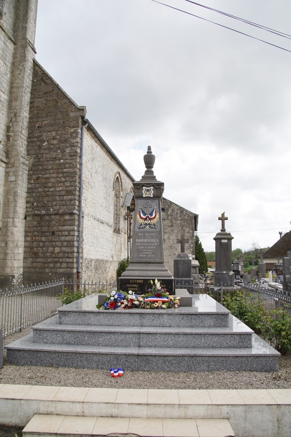 Photo Bourthes - le monument aux morts