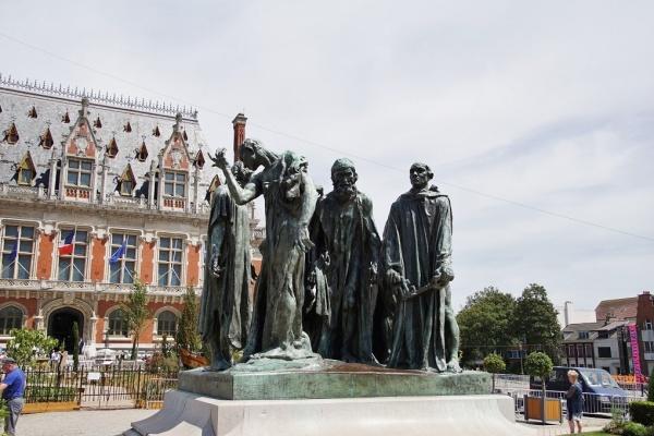 Photo Calais - les Statue