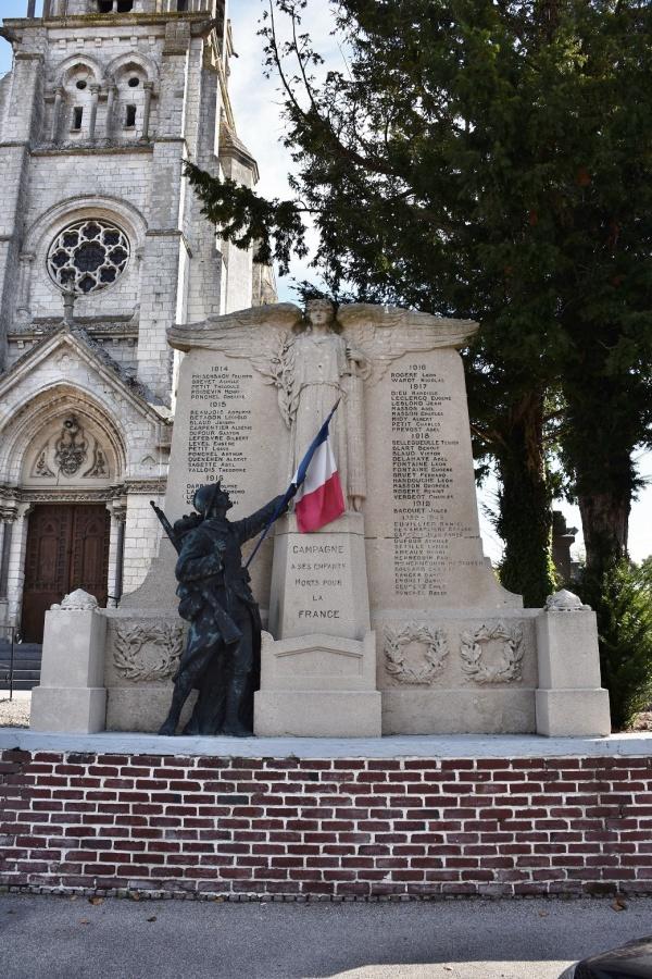 Photo Campagne-lès-Hesdin - le Monument Aux Morts