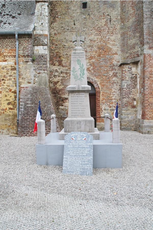 Photo Cormont - le monument aux morts