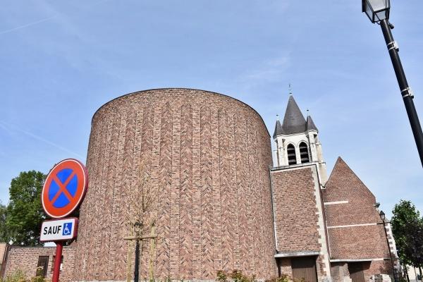 Photo Courrières - église saint Piat