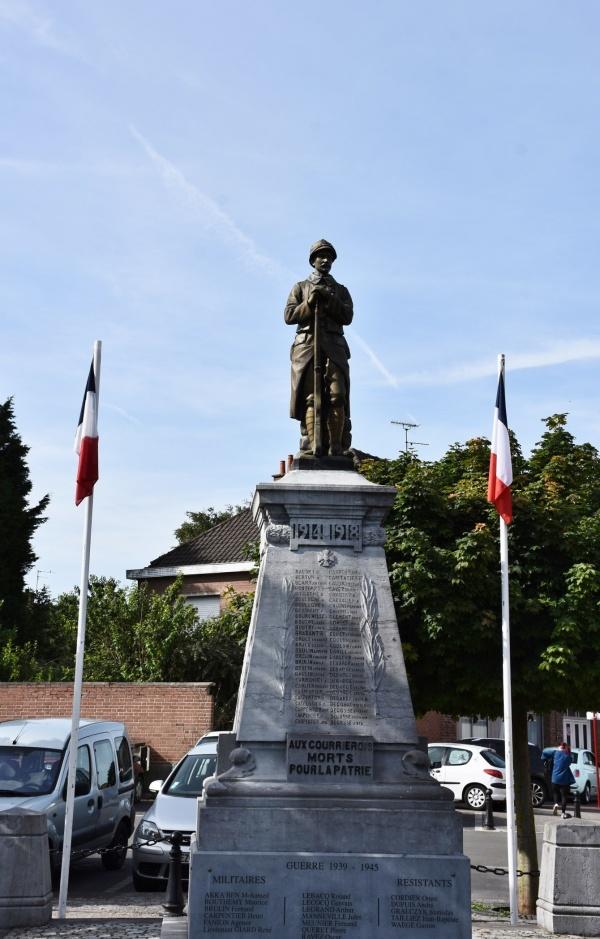 Photo Courrières - le Monument Aux Morts