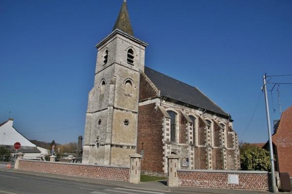 Photo Gosnay - église Saint Léger