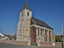 Photo paysage et monuments, Gosnay - église Saint Léger
