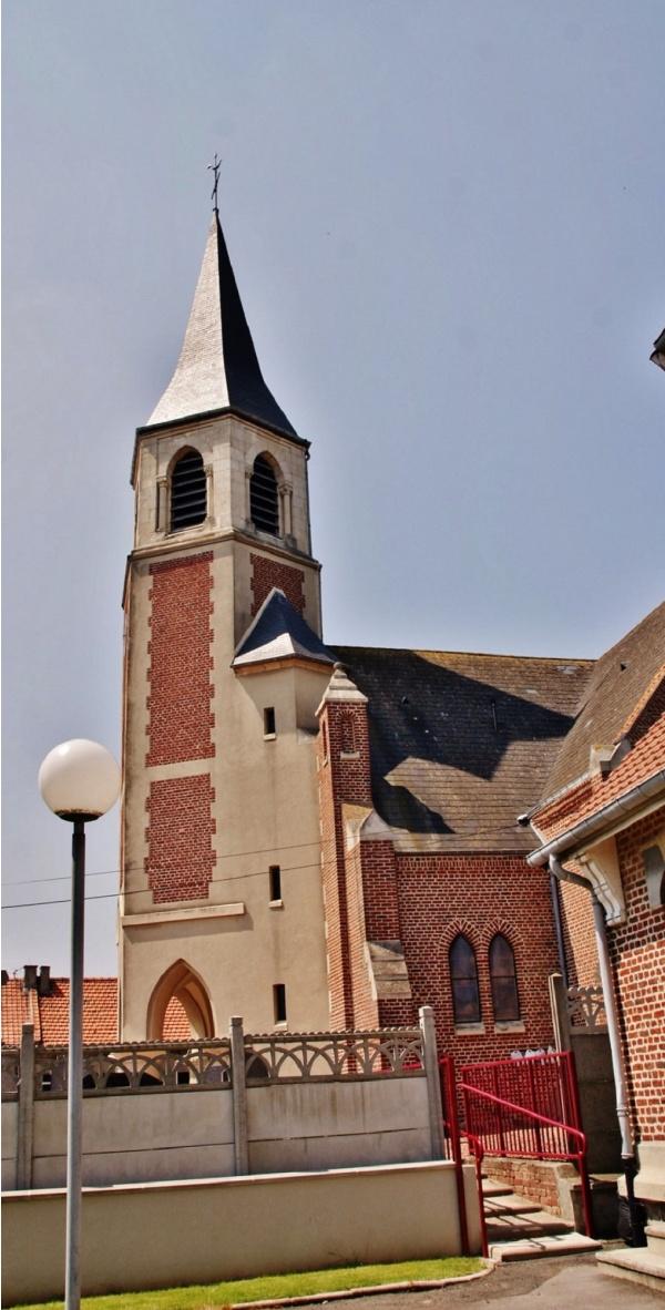 Photo Gouy-sous-Bellonne - L'église