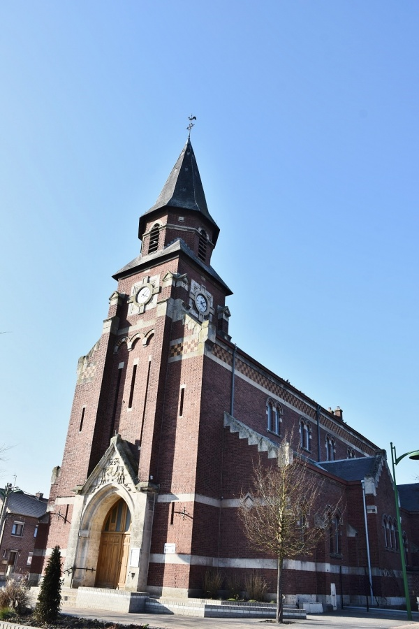 Photo Haisnes - église Saint Nicaise