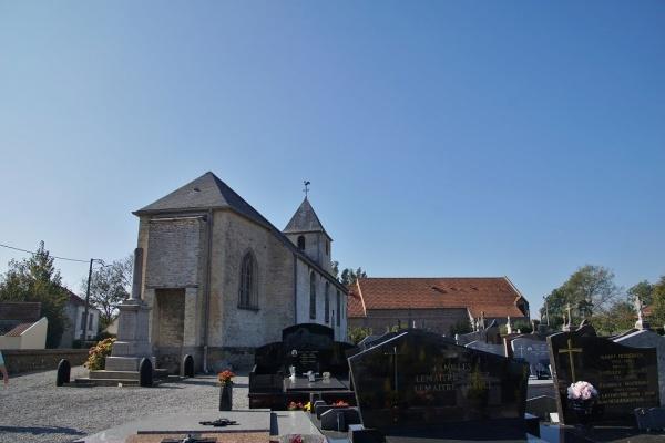Photo Hames-Boucres - église Saint Martin