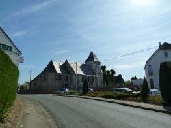 Photo paysage et monuments, Houlle - l'église Saint Jean Baptiste