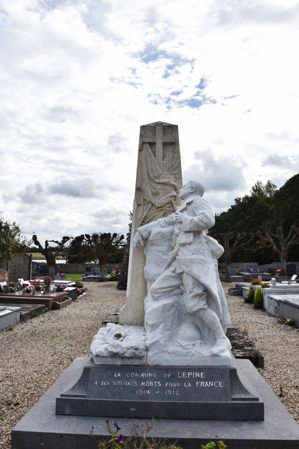 Photo Lépine - le Monument Aux Morts