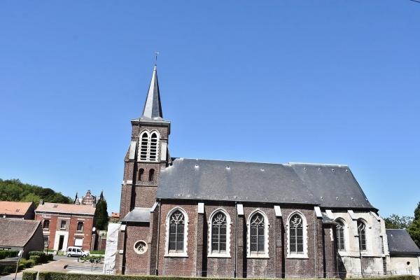 Photo Marles-les-Mines - église Saint Vaast