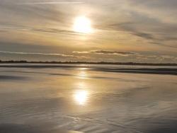Photo paysage et monuments, Oye-Plage - soleil d hiver