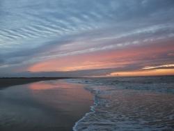 Photo paysage et monuments, Oye-Plage - coucher de soleil