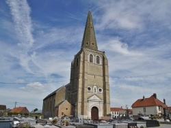 Photo paysage et monuments, Sainte-Marie-Kerque - église Notre Dame
